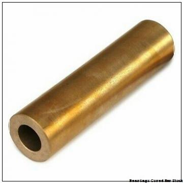 Oilite SSC-1601 Bearings Cored Bar Stock