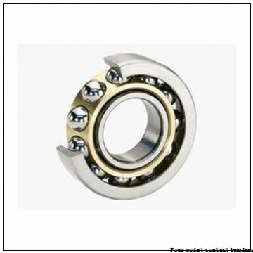 14 Inch | 355.6 Millimeter x 15 Inch | 381 Millimeter x 0.5 Inch | 12.7 Millimeter  Kaydon KD140XP0 Four-Point Contact Bearings