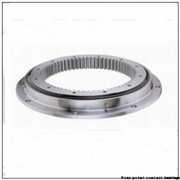 4 Inch | 101.6 Millimeter x 4.5 Inch | 114.3 Millimeter x 0.25 Inch | 6.35 Millimeter  Kaydon KA040XP0 Four-Point Contact Bearings