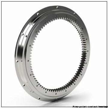 35 mm x 80 mm x 21 mm  FAG QJ307-TVP Four-Point Contact Bearings