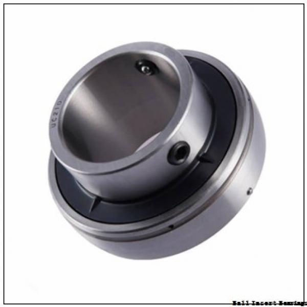 38,1 mm x 80 mm x 42,86 mm  Timken 1108KRR Ball Insert Bearings #3 image