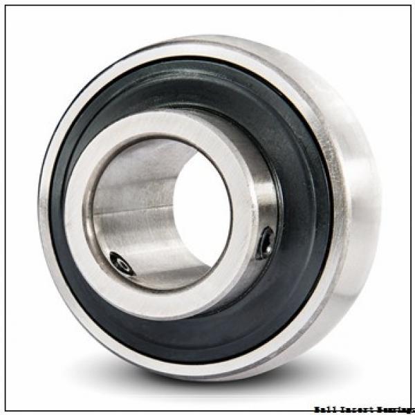 38,1 mm x 80 mm x 42,86 mm  Timken 1108KRR Ball Insert Bearings #1 image