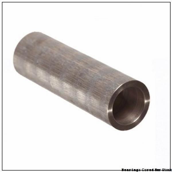 Oilite CC-2504 Bearings Cored Bar Stock #1 image