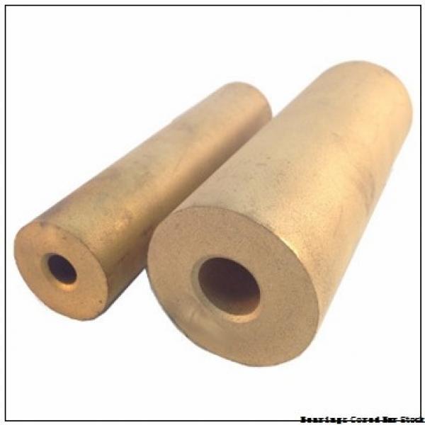 Oilite CC-3001 Bearings Cored Bar Stock #1 image
