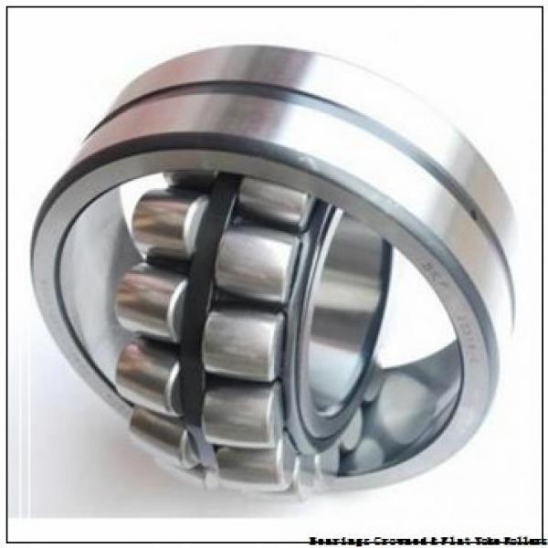 RBC CRBY 1-1/8 Bearings Crowned & Flat Yoke Rollers #1 image