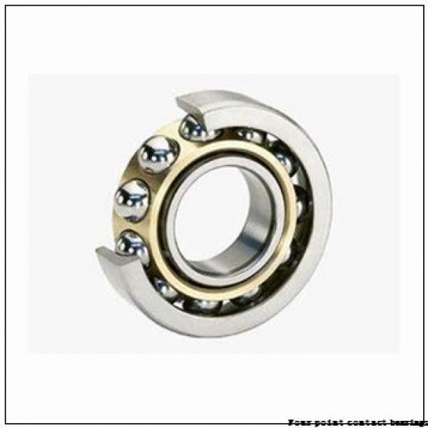 75 mm x 160 mm x 37 mm  FAG QJ315-N2-MPA Four-Point Contact Bearings #3 image