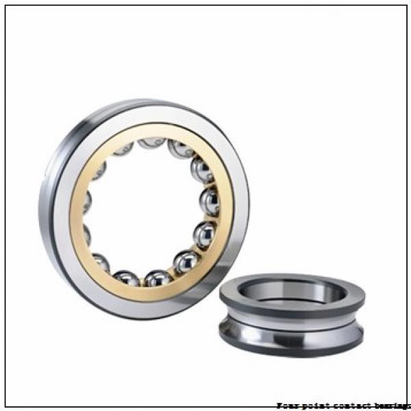 85 mm x 180 mm x 41 mm  FAG QJ317-N2-MPA Four-Point Contact Bearings #1 image
