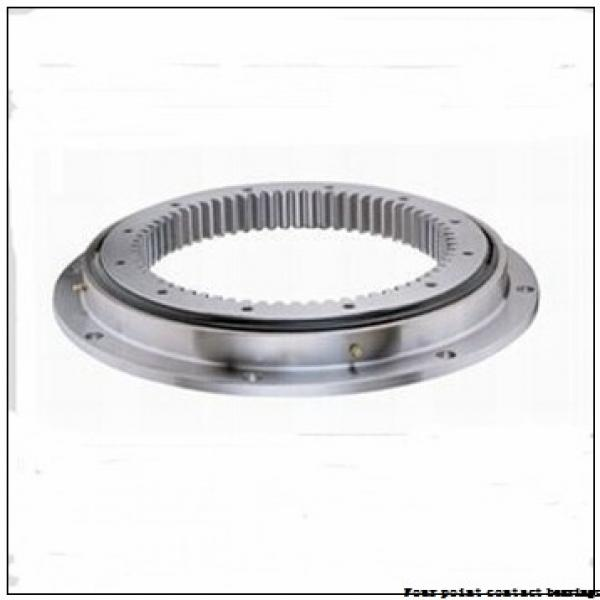 170 mm x 360 mm x 72 mm  FAG QJ334-N2-MPA Four-Point Contact Bearings #1 image