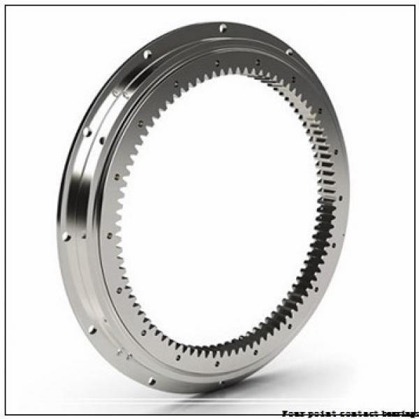 45 mm x 100 mm x 25 mm  FAG QJ309-TVP Four-Point Contact Bearings #1 image