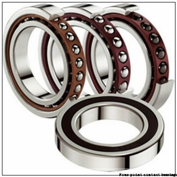 40 mm x 90 mm x 23 mm  FAG QJ308-TVP Four-Point Contact Bearings #2 image